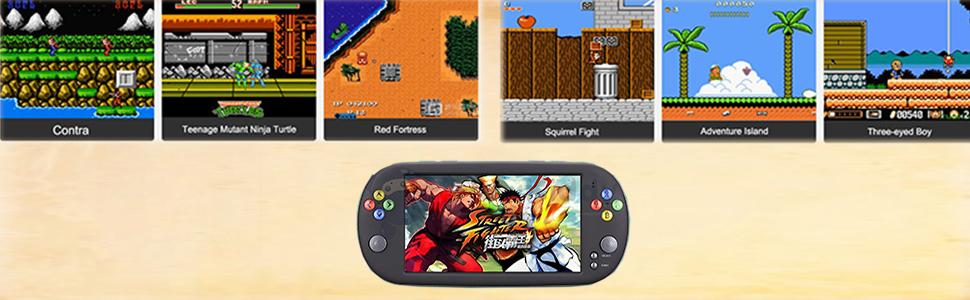 King Bomb 7.0-Inch Pantalla Grande 16G Handheld Arcade Game ...