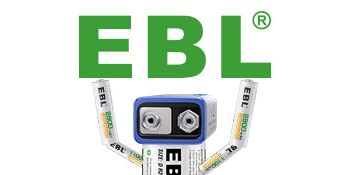 EBL Batteries and charger