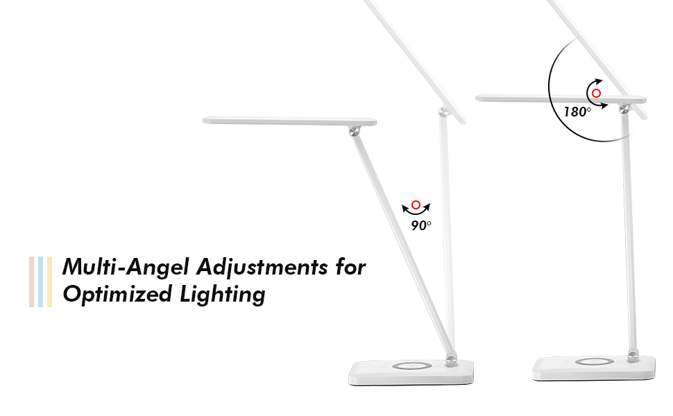 MULTIANGEL ADJUSTMENTS DESK LAMP
