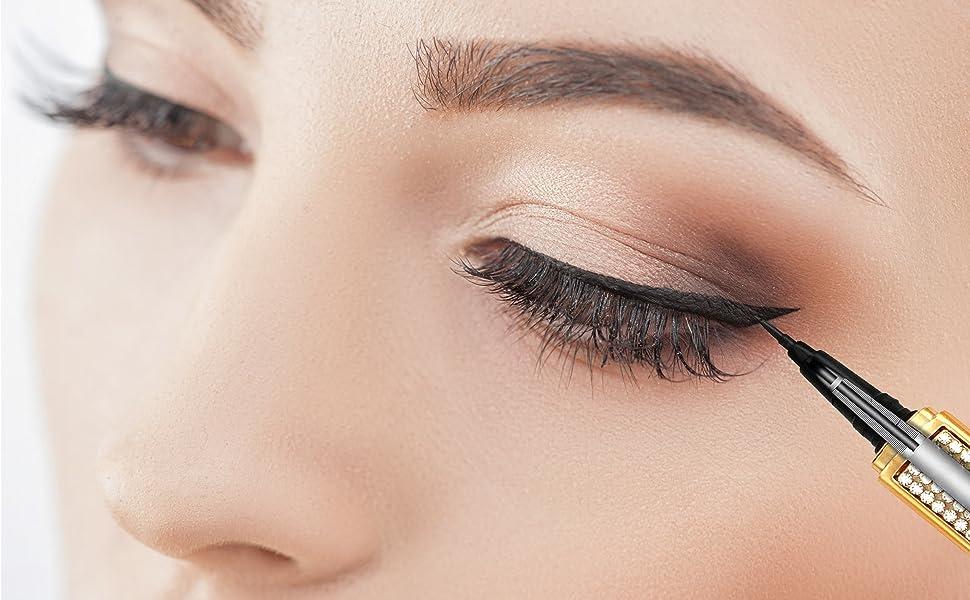 waterproof eyeliner,glitter eyeliner,eyeliner pen,black liquid eyeliner,liquid eyeliner black,gifts