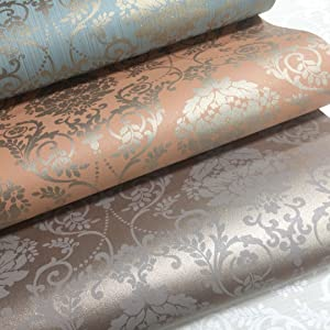 damask wallpaper for walls wallpaper for bathroom bedroom shimmering glittering wallpaper