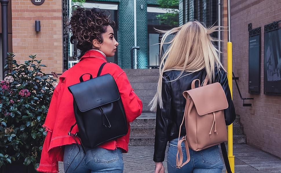 Lederrucksack Damen - Rucksack Leder Expatrié