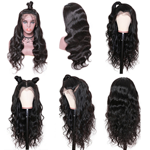 lace front body wave wigs with Different Hairstyles
