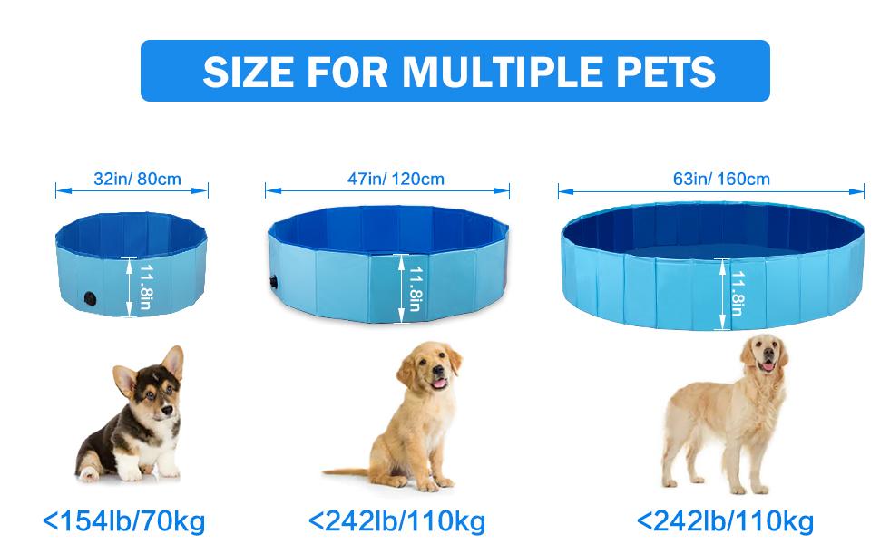 Foldable Pet Bath