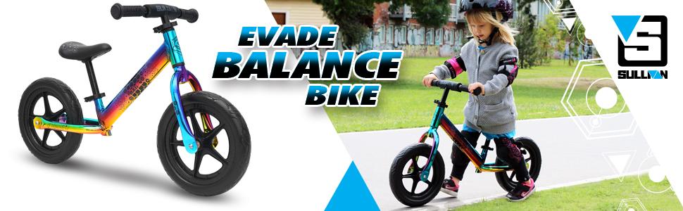 evade balance bike
