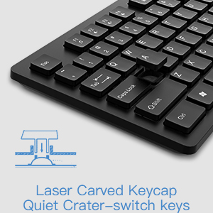 wireless keyboard mouse combo