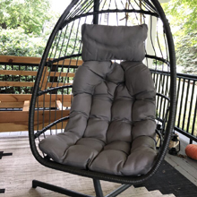 The egg chair outdoor