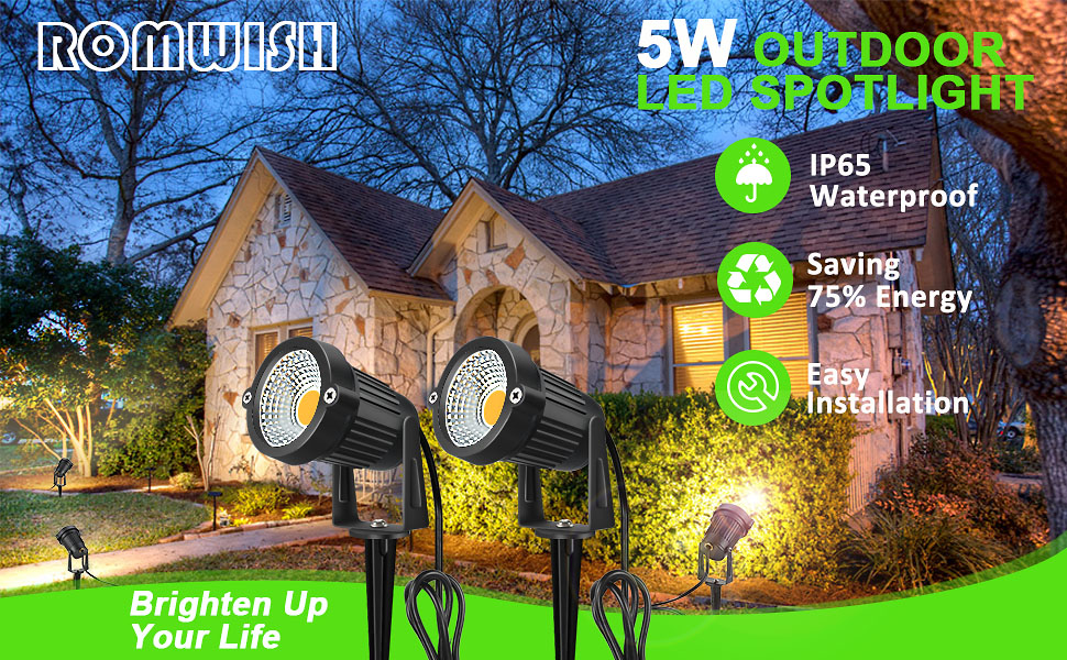outdoor spotlight led landscape lights spot light spotlights