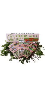 deluxe seed assortment herb seeds