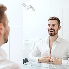 The model of Boldnine men's face cleanser for oily skin uses deep pore cleanser for face