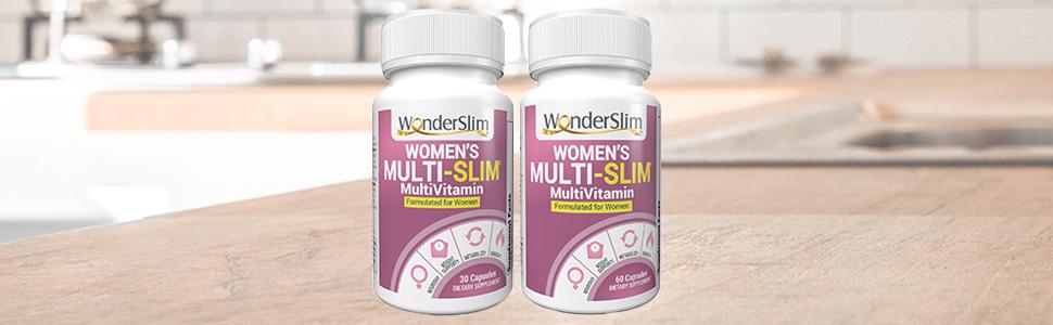WonderSlim Women's MultiSlim Formulated For Women