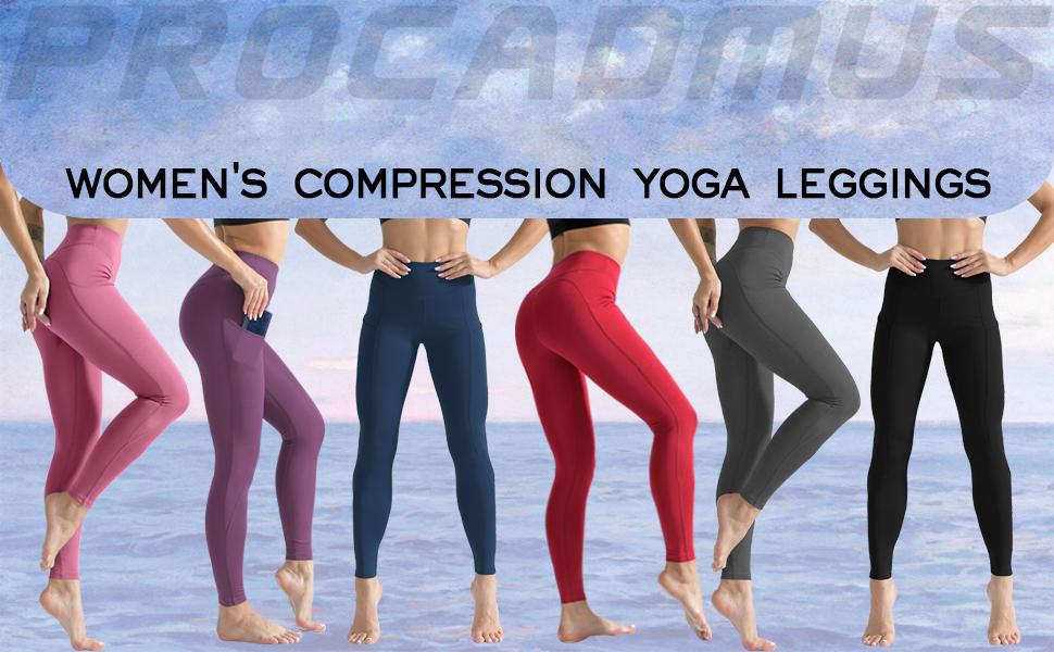women's compression yoga leggings