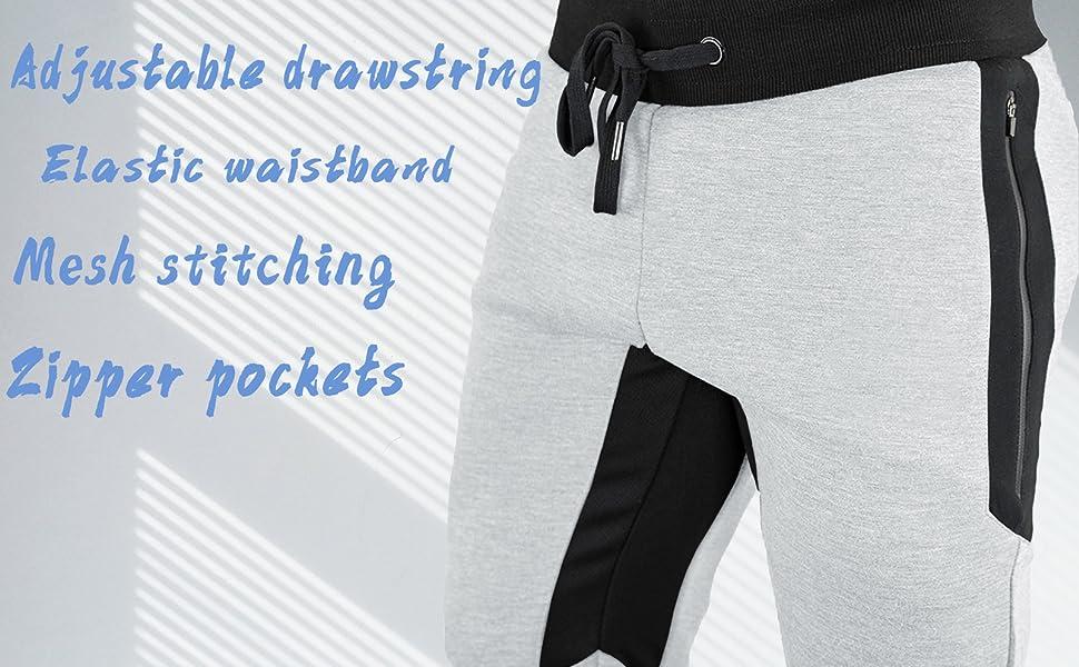 gym workout running jogger training shorts men