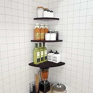 corner shelves for kitchen