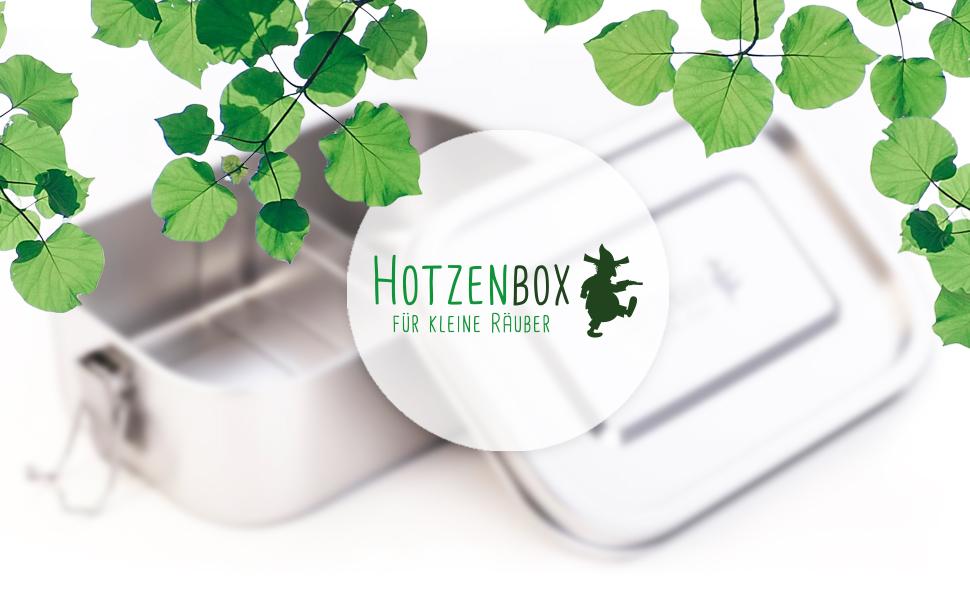 Hotzenbox ökologische Box umweltfreundlich grün nachhaltig zero waste sustainable lunchbox