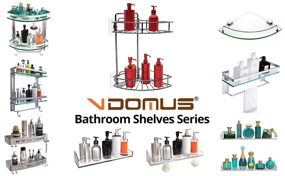 Vdomus bathroom shelves series