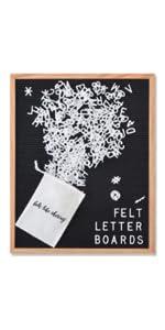 black 16 20 chatter board felt letter board