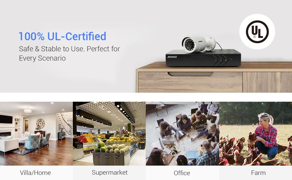 1080P UL certificated