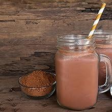 Addictive Wellness arriba nacional hot smoothie chocolate cacao cocoa powder