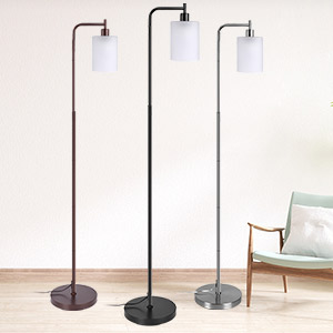 tall pole light shade for floor lamps standing lighting stand up adjustable lamp with remote control