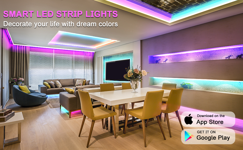 led strip light 100ft