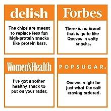 high protein low carb Keto press good reviews gluten free grain free quevos egg white chips