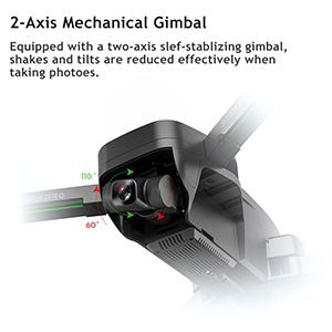 Mechanischer selbststabilisierender 2-Achsen-Kopf