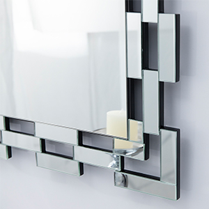 detail of wall mirror