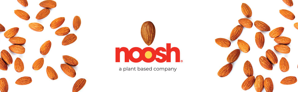 Noosh, Almond Butter, Vegan, Kosher, Gluten Free, NON GMO, Peanut Free, Dairy Free, Soy Free