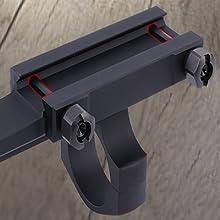 Picatinny rail scope mount