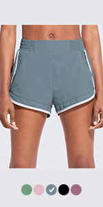 "women 2.5"" running shorts"