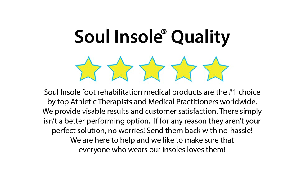 soul insole quality
