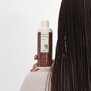 Head Lice Combing Utredningsbalsam som används efter en lusbehandling