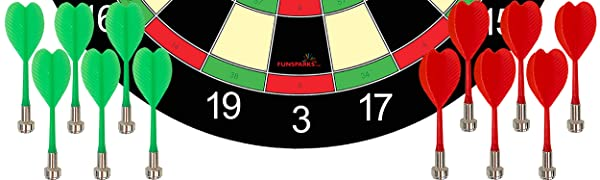 Magnetic dart board for kids and adults dartboard indoor and outdoor game fun for everyone