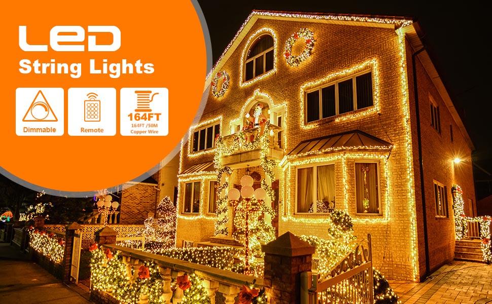 164ft string lights