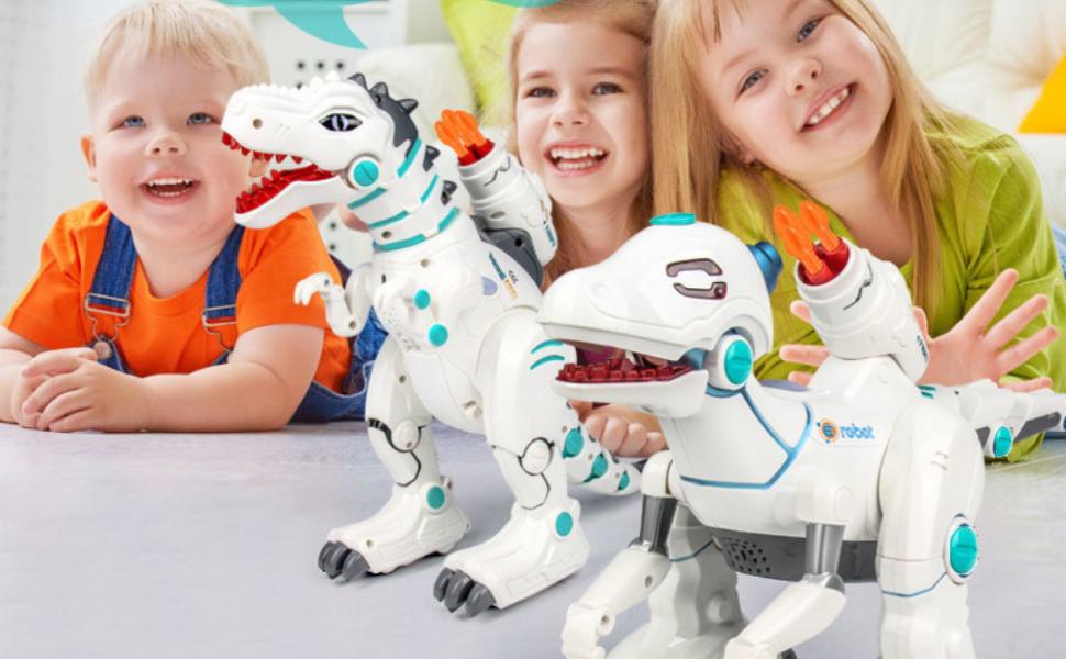 walking dinosaur robot toys remote control