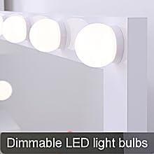 Dimmable LED light bulbs