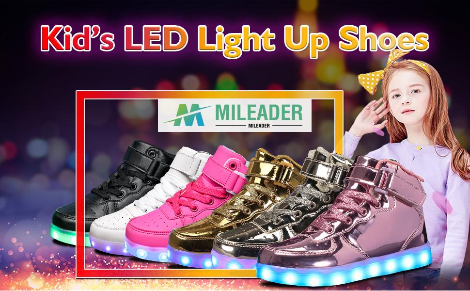 Kid's LED Light Up Shoes