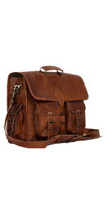 16 inch Leather Briefcase