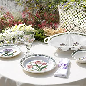 portmeirion outdoor collection table setting