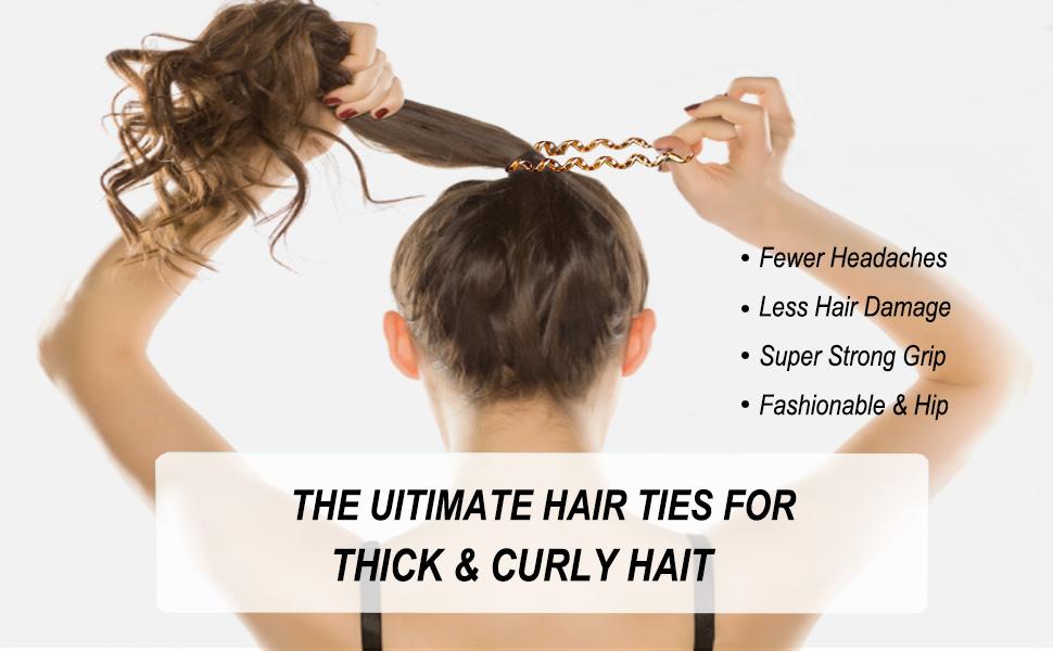 Hair Scrunchies Hair Coils