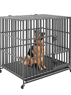 Heavy Duty Dog Cages Large Dog Crate Pet Cage Dog Dog Crate Heavy Duty Dog Crate