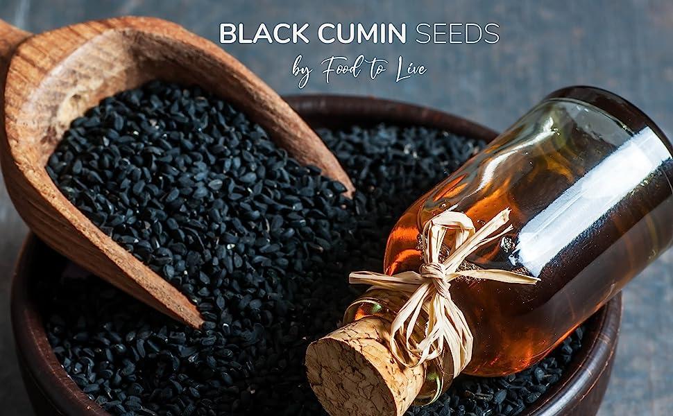 Black Cumin Seeds, food to live
