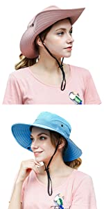 fishing hats with net