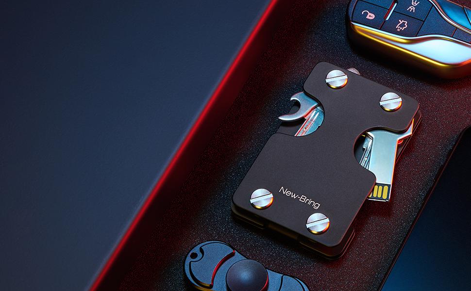 wallet for keys and cards holder