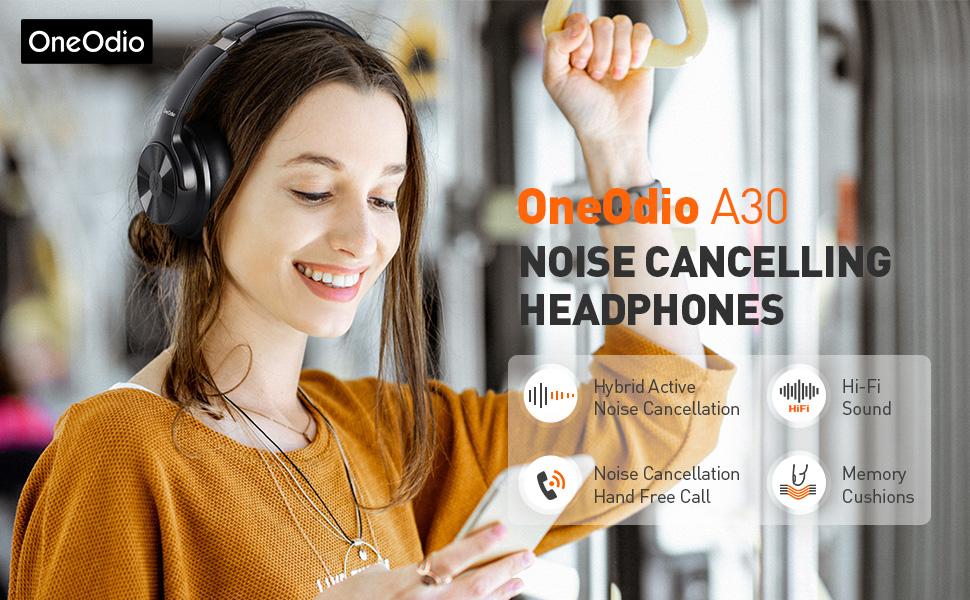oneodio noise cancelling headphones