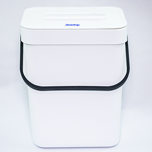 small whie compost bin
