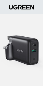 UGREEN Quick Charge 3.0 USB Charger 36W QC 3.0 Wall Plug Adapter