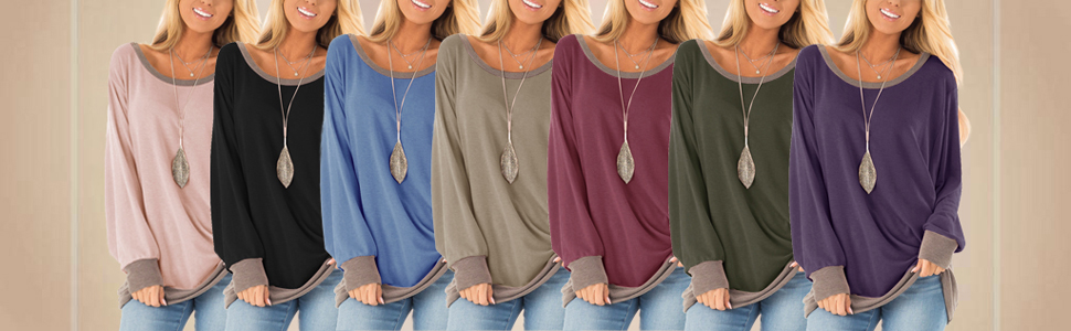 Colors of the tunics