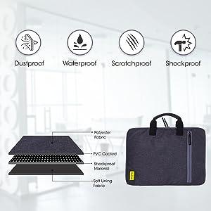 laptop sleeve 15.6 inch waterproof